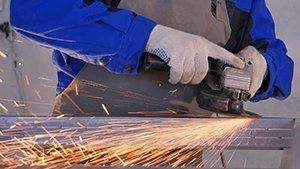 Абразивная обработка поверхности металла